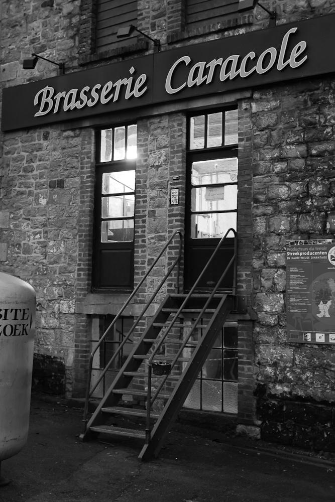 Brasserie Caracole - Falmignoul - 2012 - les opérations débutent aux aurores