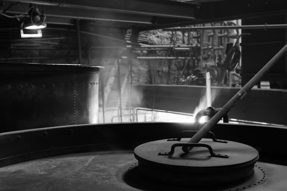 Brasserie Caracole - Falmignoul - 2012 - chaudière et cuve matières