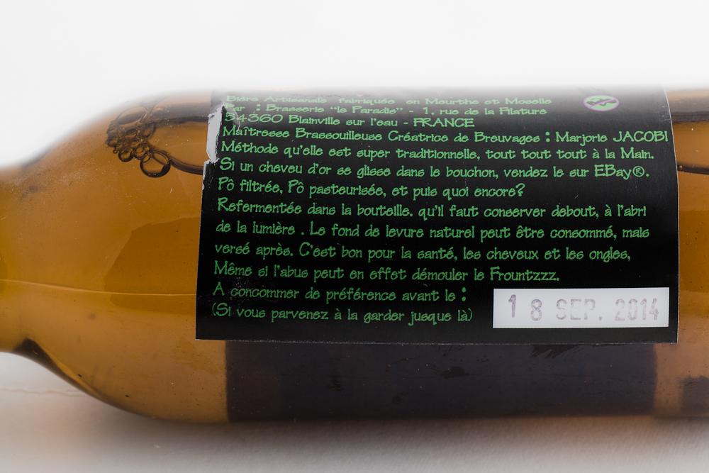 La Larme Blanche - Brasserie Le Paradis - photo 3